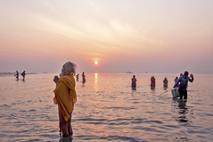 Celebrating Faith..Gangasagar...!! (sandy_photo) Tags: gangasagar ganges ganga india sea sandipsarkarphotography bayofbengal gangasagarmela