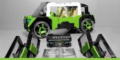 Audi Qi - beach buggy (Veeborg) Tags: lego foitsop audi qi
