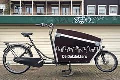 WorkCycles Kr8 Delivery- Dakdokter (@WorkCycles) Tags: amsterdam bak bakfiets bakfietsen boxbike cargo cargobike dakdokters delivery kr8 longjohn workcycles