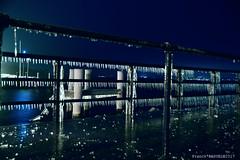 L'embarcadaire d'Yvoire sous la Glace 5 (Franck Baduel) Tags: léman arctique polaire glace tempète yvoire evian