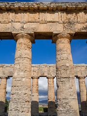Segesta-6 (aramshelton) Tags: sicily greek greektemple ancient goldenhour