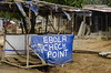 Ebola Check Point (Will Margett Photography) Tags: sierraleone africa ebola blue d7000 check point topv1111