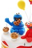 Cookie Monster (Little Cottage Cupcakes) Tags: birthday cake balloons rainbow elmo sesamestreet cookiemonster fondant sugarpaste boycake littlecottagecupcakes furchesterhotel
