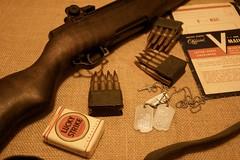 WW-2 US M1 Rifle (Pacific Kilroy) Tags: army us gun mail m1 antique military wwii rifle clip worldwarii weapon ww2 luckystrike cigarettes smokes ammo artifact tobacco ammunition dogtags militaria firearm garand pacifictheater vmail