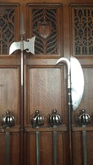 20150721_105210 (clare_and_ben) Tags: uk castle scotland edinburgh edinburghcastle unitedkingdom unesco worldheritagesite sword greathall 2015 polearm