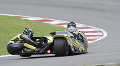 Ricky Stevens & Ryan Charlwood (fjnige) Tags: bike race speed nikon track action racing motorcycle kawasaki sidecar brandshatch d7100