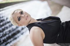 2015_07_30 Georgia W 442 WM (Sendall) Tags: portrait sexy london beautiful beauty fashion waterfall gorgeous location blonde stunning editorial canarywharf androgyny androgynous isleofdogs