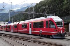 RhB Trainset type ABe 8/12 N 3506. (Franky De Witte - Ferroequinologist) Tags: de eisenbahn railway estrada chemin fer spoorwegen ferrocarril ferro ferrovia