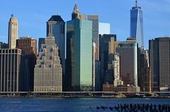 East River Morning (pjpink) Tags: city nyc summer urban newyork june skyline architecture river cityscape manhattan eastriver 2015 pjpink