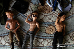 Making Of (Osmundo Gois) Tags: boy sexy high doll body after hunter charming dexter wonderland ever alistair mattel huntsman