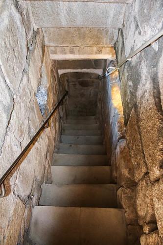 Escalier de la tour du Alt-Windeck