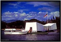 "ARIZONA Memorial (""SnapDecisions"" photography) Tags: hawaii pearlharbor arizona battleship memorial nikon hirschfeld"