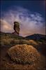 Here I am (el_farero) Tags: teide nocturna nightshot parque nacional roque cinchado canon mark iv sky stars clouds rocks tenerife canarias landscape