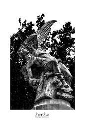 Lucifer P&B (R. Spolidoro) Tags: lucifer lucifero elangel angelcaido angelocaduto angelo anjocaido anjo madrid elretiro estatua 2enti2ue pretoebranco biancoenero blackandwhite bw bn pb