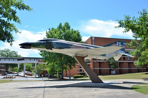 F-4C Phantom, U. S. Air Force (64-0851), Alabama, Tuskegee University