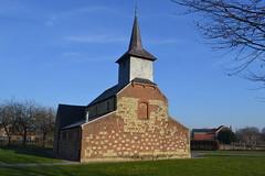 Kapel van Guvelingen, Sint-Truiden (Erf-goed.be) Tags: kapel guvelingen kerk heiligkruiskerk sinttruiden archeonet geotagged geo:lon=51869 geo:lat=508289 limburg