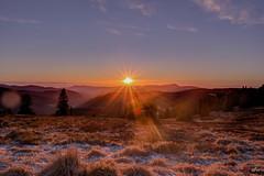 Sonnenuntergang am Feldberg 5