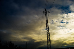 Powerful (Swede1969) Tags: keyes turlock denair powerpole electricity weather rainy
