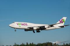 Wamos Air - EC-KXN - B747-400 (Aviation & Maritime) Tags: eckxn wamos wamosair boeing b747 b747400 boeing747 boeing747400 osl engm osloairportgardermoen oslolufthavngardermoen osloairport gardermoen norway