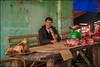 Butcher.  Bao Lac (Claire Pismont) Tags: asie asia viajar voyage vietnam vietnammars2016 butcher meat viande marché market pipe bamboopipe documentory
