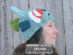 Bulbasaur 02a (zreekee) Tags: pokemon bilbasaur toque sparkledoomdesigns saskatchewan canada crochet handmade