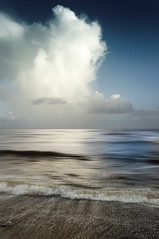 Sky Scape (Bruus UK) Tags: teignmouth devon coast clouds sky storm marine sea beach sand shore shoreline alone seascape waves breaking rain weather