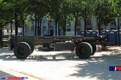 BDQJ09-4032 RENAULT G290 VTL (milinme.myjpo) Tags: frencharmy renault g290 vtl véhicule de transport logistique remorque rm19 trailer bastilleday