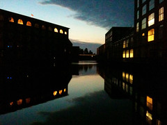 image (strutt_anneli) Tags: finland suomi tampere tampella finlayson autumn syksy tammerkoski evening rapids water