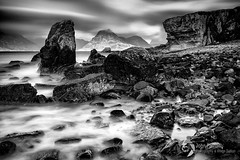 Elgol and the black Cullin (John Farnan Photography) Tags: elgol isleofskye skye bnw blackandwhite longexposure le nisifilters daytimelongexposure bw