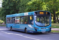 Arriva North East: 1507 / NK13 FJP (Jimmi's Transport Photos) Tags: bus publictransportation arriva newtonaycliffe buspictures arrivanortheast nebuses