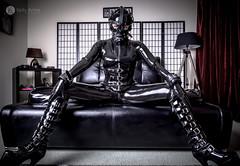 Missy Izzy (kellyannensw) Tags: fetish rubber bdsm latex harness balletboots