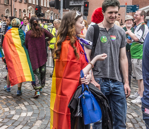DUBLIN 2015 LGBTQ PRIDE PARADE [WERE YOU THERE] REF-106024