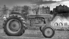 Also Available in HD (Mark.L.Sutherland) Tags: blackandwhite bw tractor monochrome vintage highdefinition hd farmvehicle invernessclassiccarshow