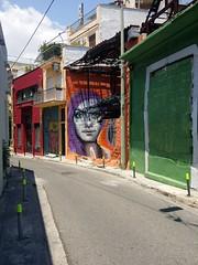 The illusive graffiti at Tournavitou Street in Keramikos / Psirri, Athens (TheVRChris) Tags: graffiti athens psiri achilles kerameikos psirri keramikos    streetart