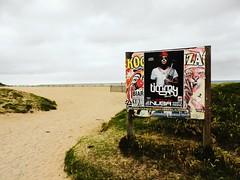 There. - Allí. (Poldarkk) Tags: beach naked sand waves alma sable trumpet playa 64 arena thoughts silence soul timmy carteles vagues plage olas silencio bidart irun pensamientos desnuda aquitaine poldarkk