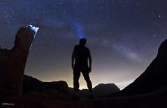 Signals ( alfanhu) Tags: light sky lightpainting luz night stars noche nocturna sella nit milkyway eldivino valctea puigcampana noctambulo vialctia tagarina morrocarlos