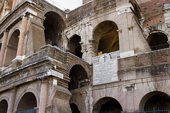 Colosseum (Leaning Ladder Photography) Tags: italy rome roma italian italia arch roman colosseum leaningladder