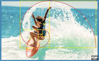 Nikon D810 Photos Surf Goddess Alana Blanchard: The Amazing Golden Ratio and Fibonacci Spiral in Art and Photography!