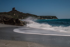 San Giovanni di Sinis (Angelica Pintus) Tags: sardegna sea panorama seascape beach san long exposure sardinia or di spiaggia giovanni sinis orisano