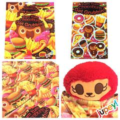 Get Grubbin! Goods! (jupey krusho) Tags: buttons stickers bags badges pouches leggings stix capris