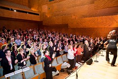 Melbourne Sings Choir perform at CI2010