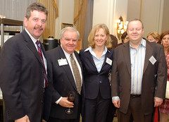 At a Chamber event