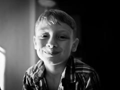 Jojo (Dahrth) Tags: boy portrait blackandwhite kid child noiretblanc nb enfant garçon gf1 lumix20mm gf120 lumixmicroquatretiers lumixμ43