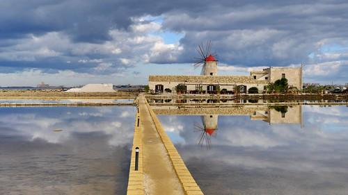 Percorso del salinaio - Museo del sale - Trapani - Sicily