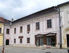 Nagybánya, Erzsébet-ház (ossian71) Tags: románia romania erdély transylvania nagybánya baiamare épület building műemlék sightseeing városkép city utca street