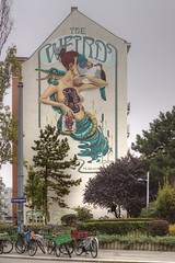 The Weird (Herbalizer) Tags: theweird nychos frauisa mural graffiti vienna wien austria österreich wall wand rookie street strasse art urban