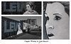 Carrie Fisher by John Bulley. (Suggsy69) Tags: nikon d5200 graffiti art tribute carriefisher johnbulley southend southendonsea starwars princessleia restinpeace rip triptych border text