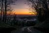 viaggio verso la notte (anarcnide) Tags: tramonto night sunset casa diroccata sky travesio friul friuli