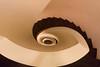 Peach stairs (michael_hamburg69) Tags: drehbahn49 designhotel sidehotel germany deutschland hamburg hansestadt treppenhaus stairway staircase stairs cagedescalier escalera vanoscala trombadellescale gabbiadellescale lóutījiān corkscrewstairs flightofwindingstairs helicalstair spiral escaleraespiral swirl hamburgstairs treppe wendeltreppe handlauf geländer schneckenform architektur handrail 旋梯 abyss 2016