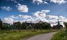 Zaanse Schans. (Alex-de-Haas) Tags: dutch dutcharchitecture holland nederland nederlandsearchitectuur netherlands noordholland zaanseschans architecture architectuur clouds house houses huis huizen landscape landschap oerhollands summer sunny wolken zomer zonnig